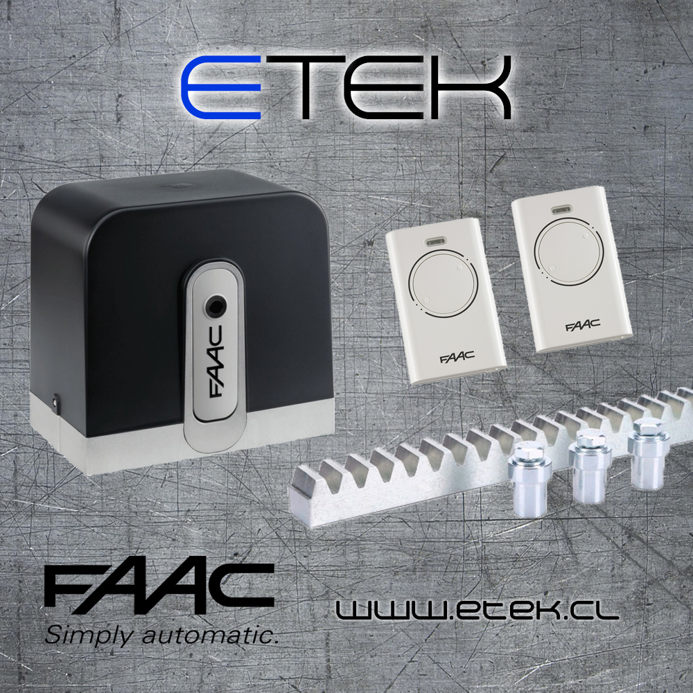 faac c720 kit 2018 plantilla etek