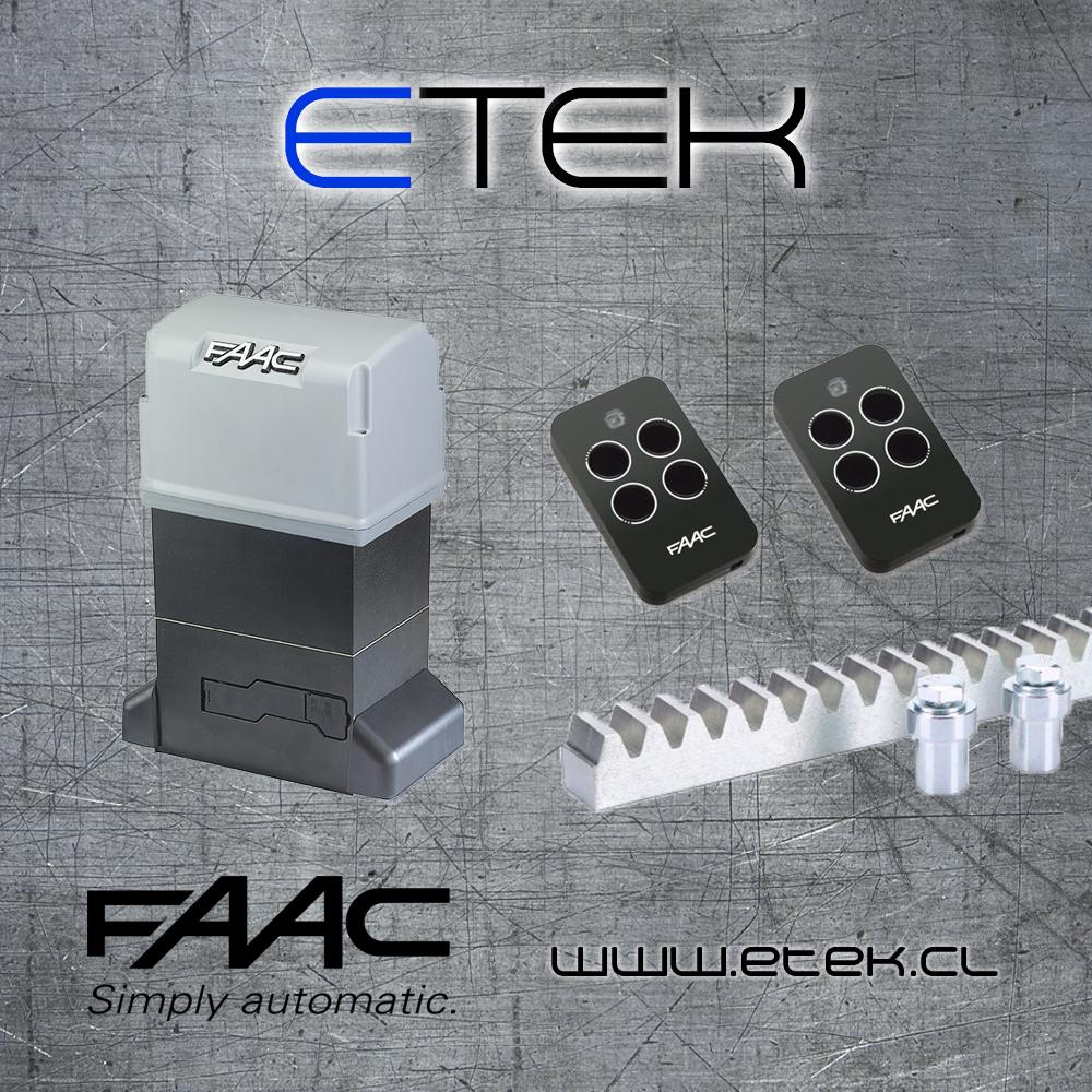 faac 844 kit 2018 plantilla etek